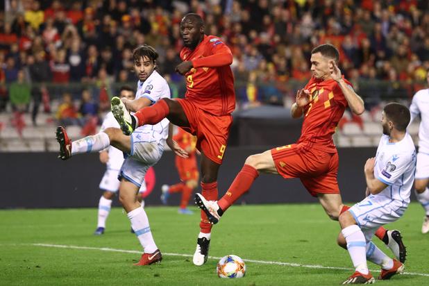 La Belgique, première à se qualifier pour l'Euro 2020