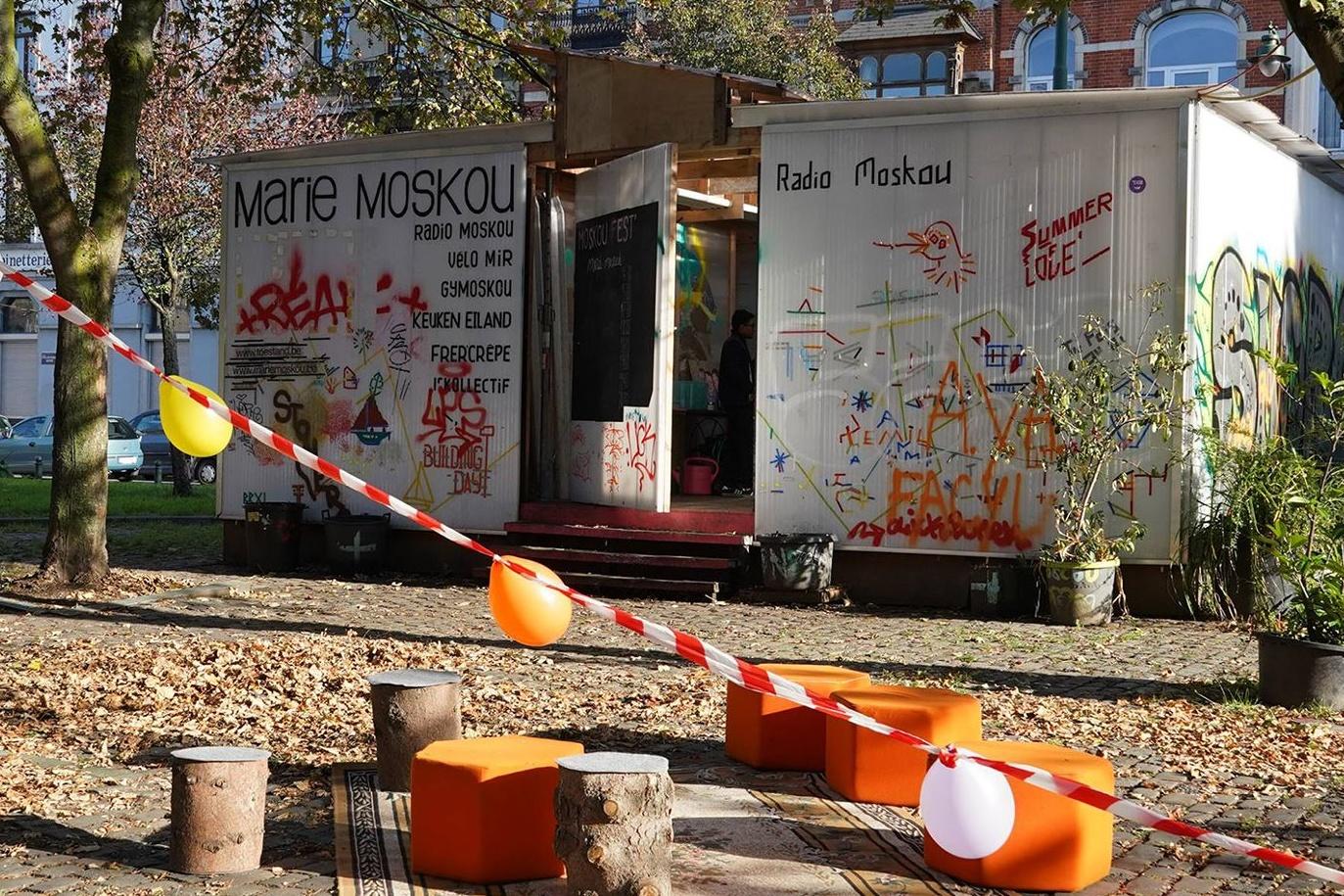 La Cabane Marie Moskou à St Gilles, DR