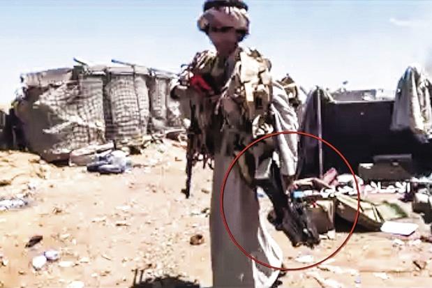Afbeeldingsresultaat voor Belgische wapens in Jemen