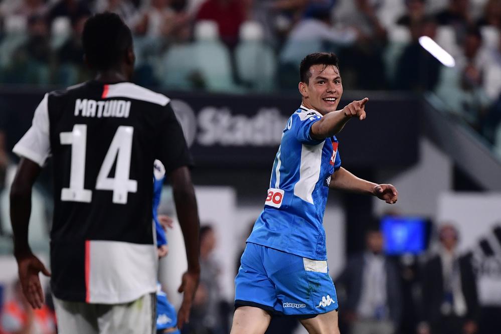 Lozano scoorde bij z'n debuut., BELGAIMAGE