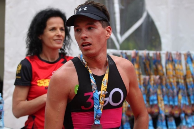 The next generation: Andrew Van Lierde pakt achtste plaats in Ocean Lava triatlon