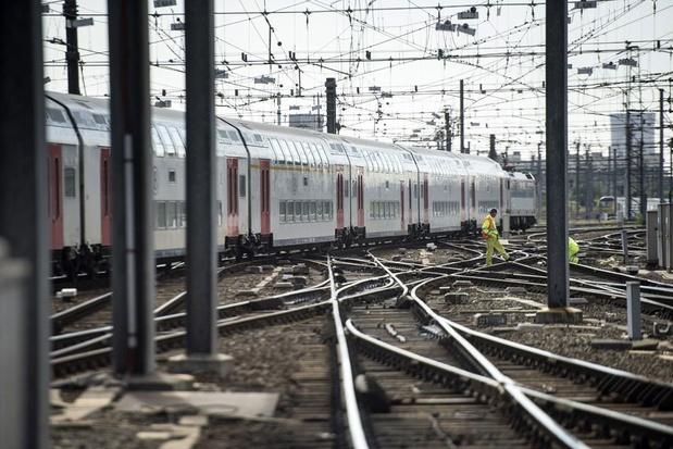 Près de 100 trains ont manqué un arrêt en 2018