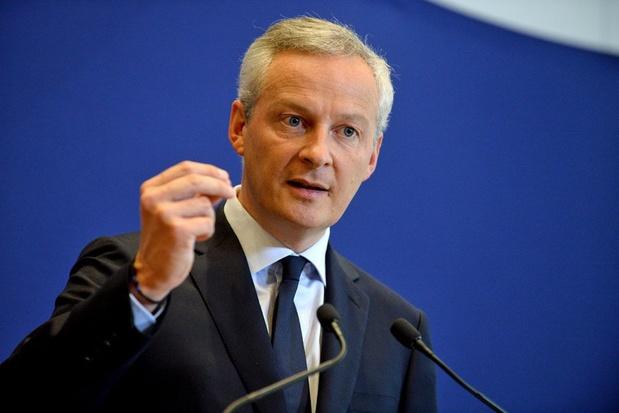 Bruno Le Maire ministre français de l'Economie