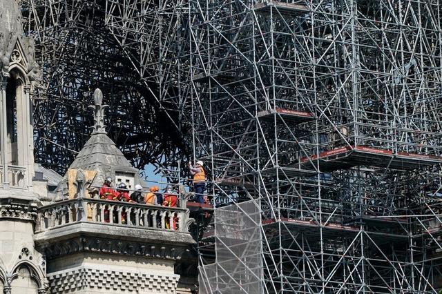 L'Unesco, reçue par Macron, soutiendra la reconstruction de Notre-Dame