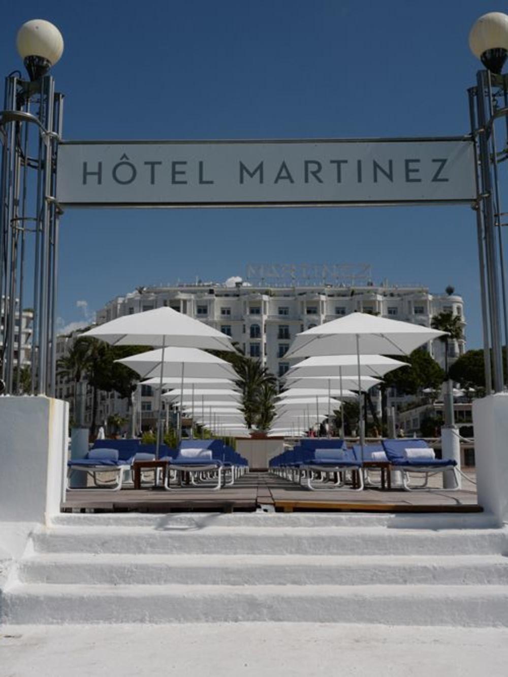 Hôtel Martinez à Cannes, AFP