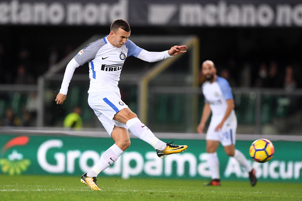 In vier jaar Inter speelde Perisic ruim 160 wedstrijden, belgaimage