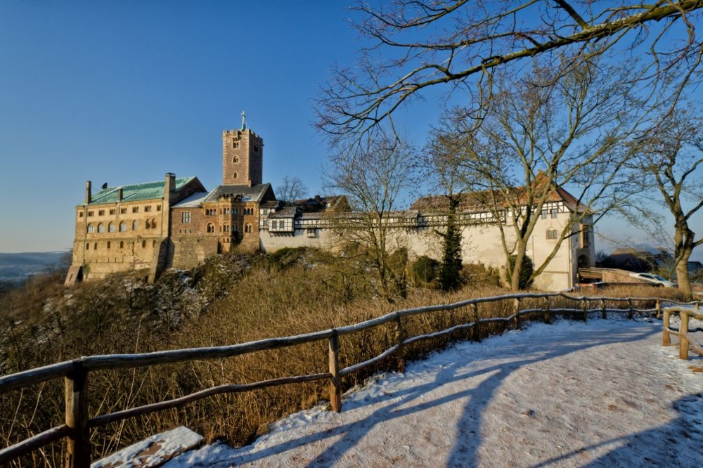 Le château de Warbourg, Getty Images