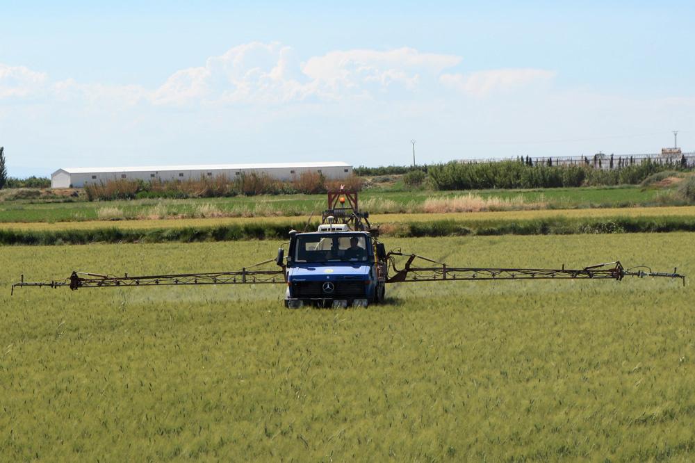 In België mag chlorpyrifos niet gebruikt worden om gewassen te sproeien., Marcos Garcia Rey