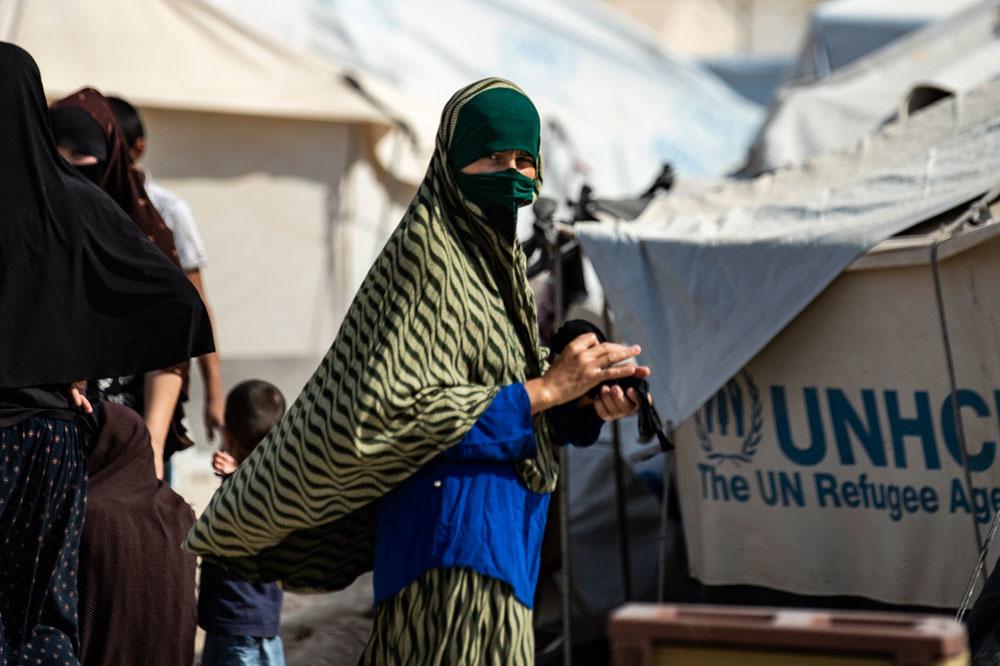 Camp d'Al-Hol, AFP