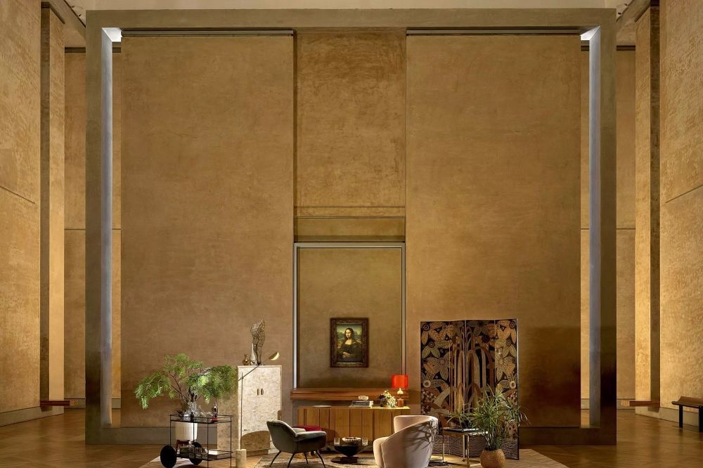 Mona Lisa, Airbnb-Louvre/Julian-Abrams