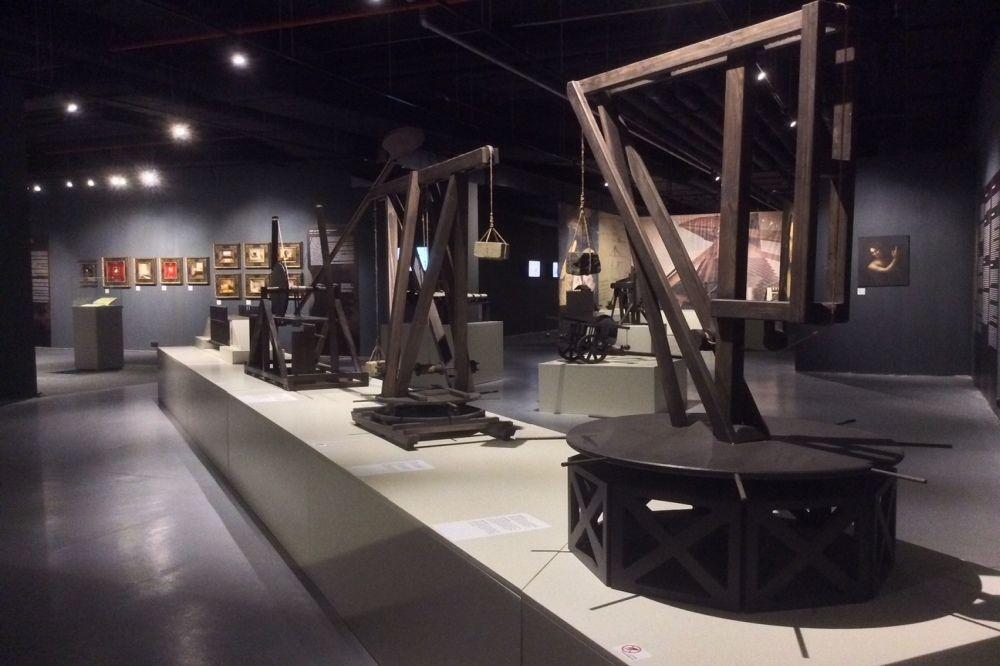 Expo 'Leonardo da Vinci, de uitvindingen van een genie', Musee da la via Wallon