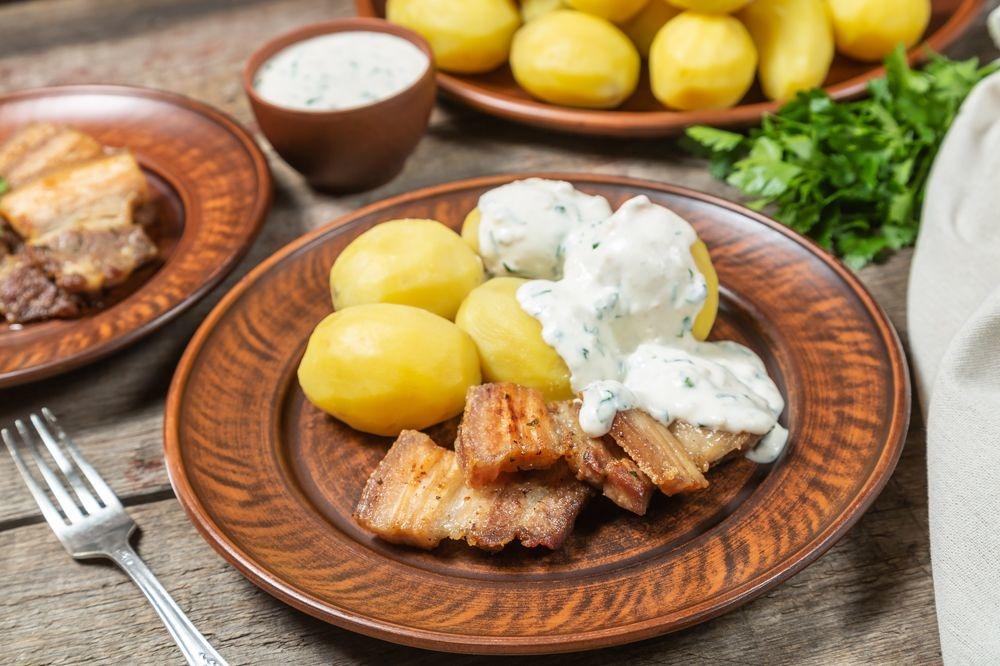 Porc et pommes de terre, le plat national danois, Getty Images