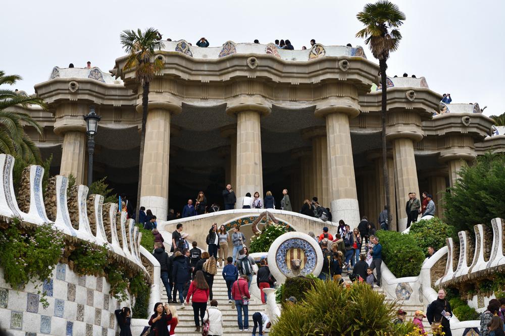 parc Guell à Barcelone, un des hauts lieux touristiques de la ville, Getty Images