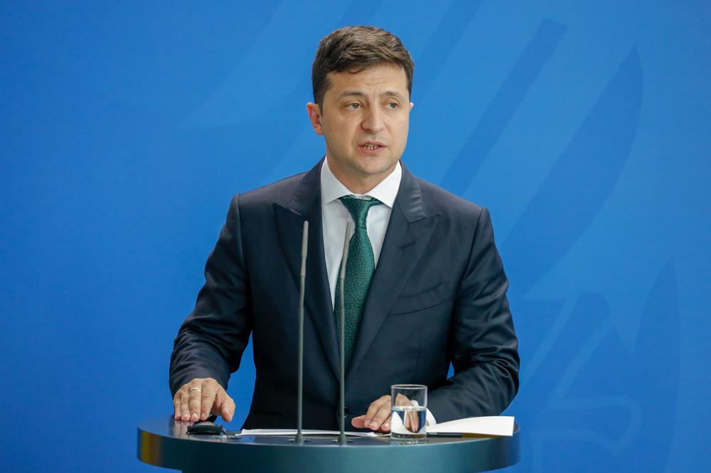 Le président ukrainien Volodymyr Zelensky, AFP
