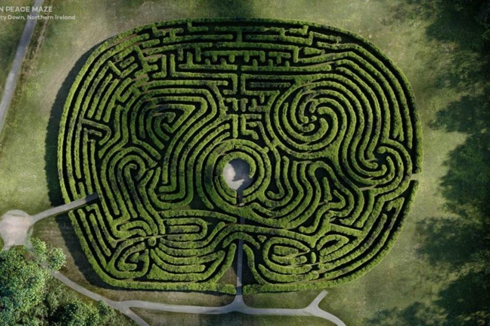 Castlewellan Peace Maze, Quick Quid