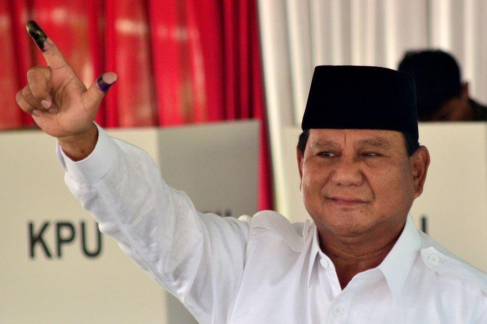 Prabowo Subianto, AFP