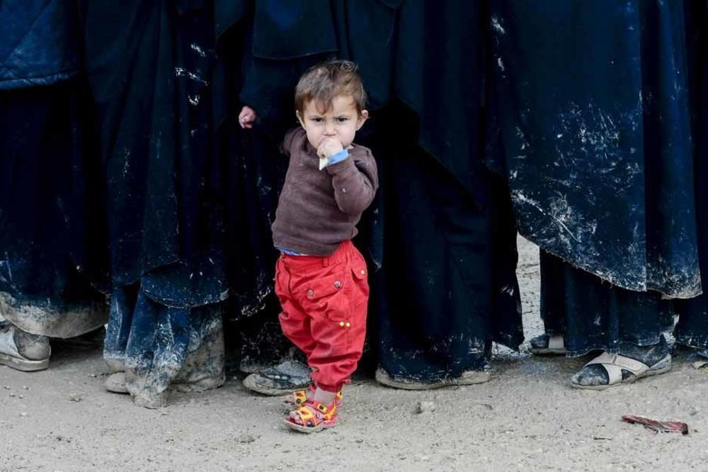 Le camp d'Al-Hol, poudrière jihadiste, AFP