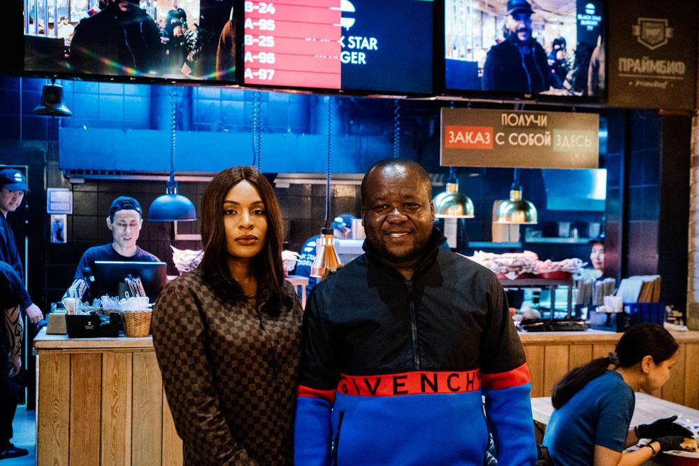 Walter et Cindy Tchassem, un couple d'entrepreneur camerounais à Moscou, Belga