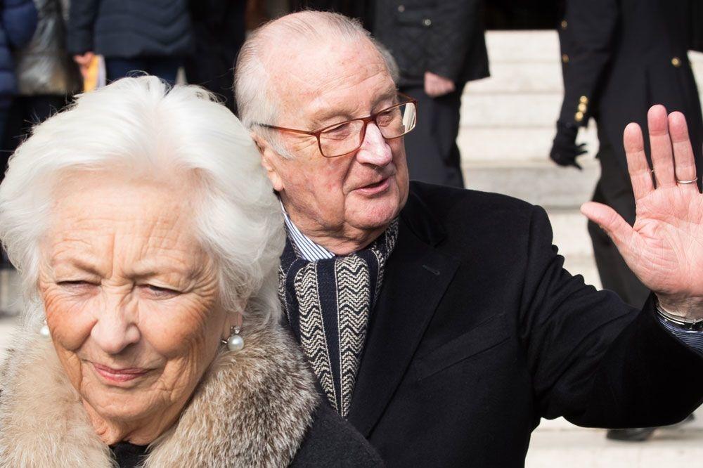 Albert II et Paola, AFP