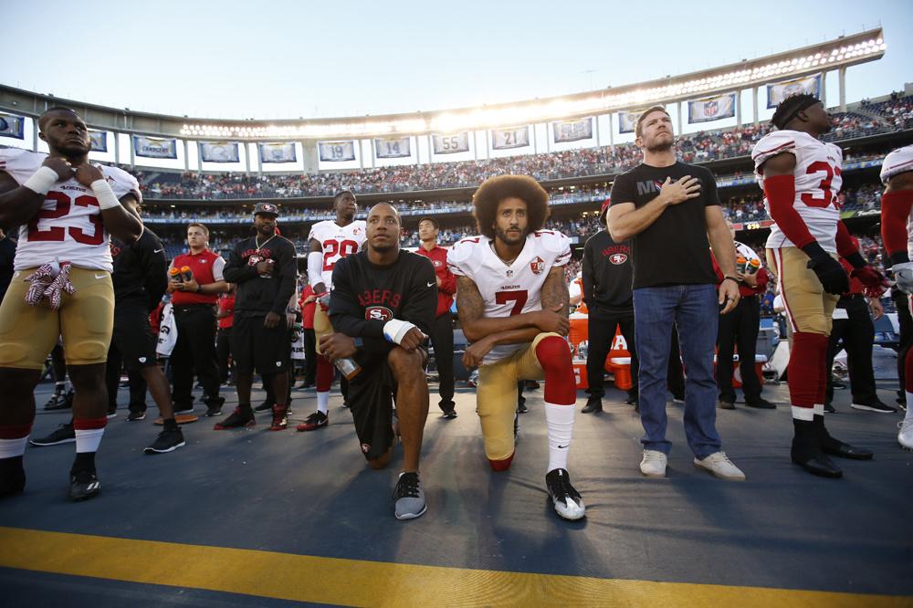 Kaepernick, à l'initiative de ce geste de révolte, Getty Images