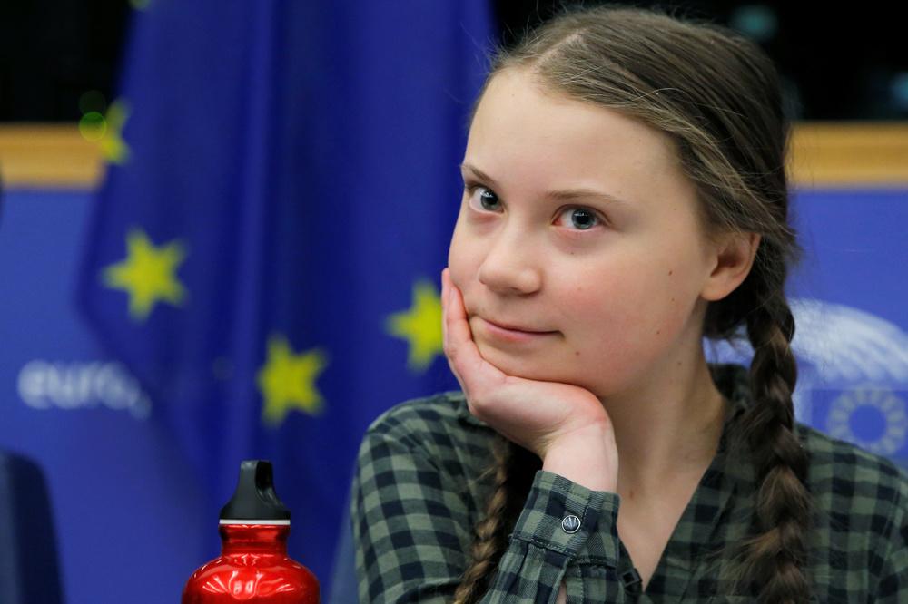 Greta Thunberg, Reuters