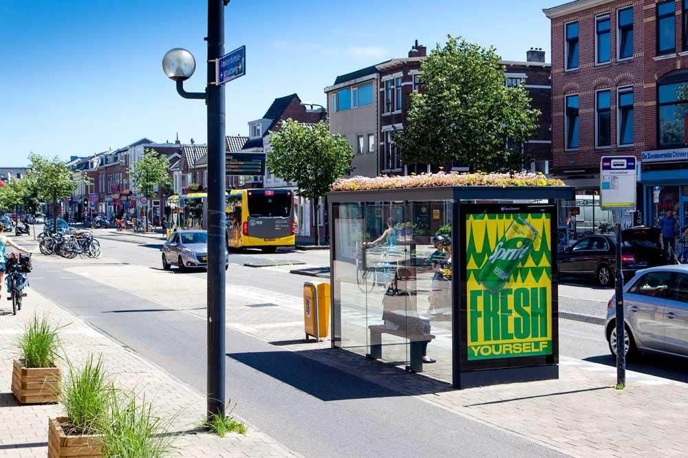 Bijvriendelijke bushokjes in Utrecht, gemeente Utrecht