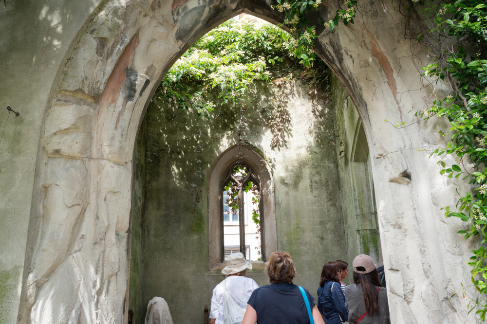 Walking Tour St Dunstan's in the East, Diana Jarvis