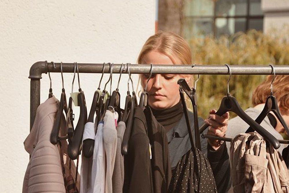 Ruil je kleding met die van anderen tijdens Fashion Exchange, Nathalie Dembinski