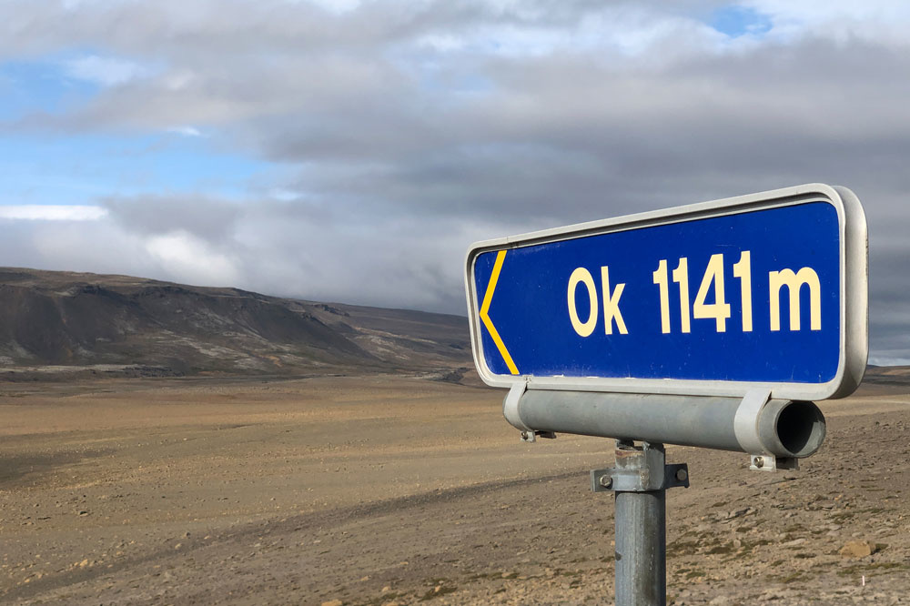 Okjökull, AFP