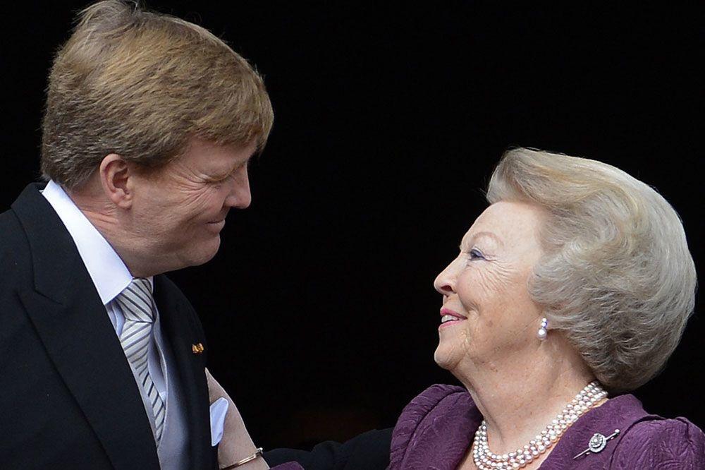 Beatrix des Pays-Bas, AFP