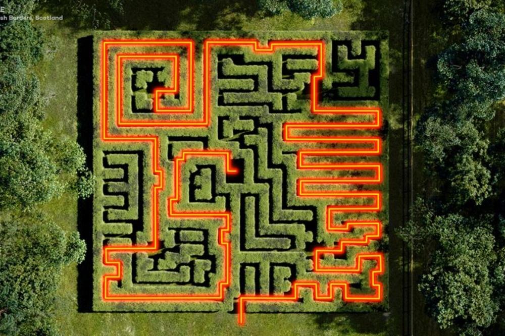 Traquair House Maze, Quick Quid