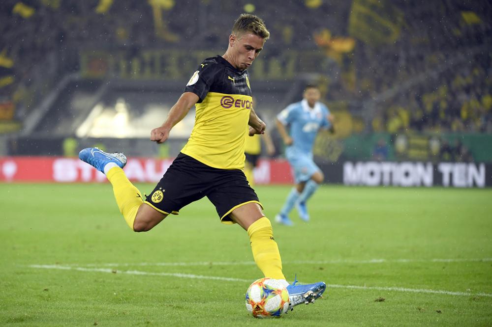 Lukt het Dortmund, met Thorgan Hazard, om Bayern te bedreigen?, belgaimage