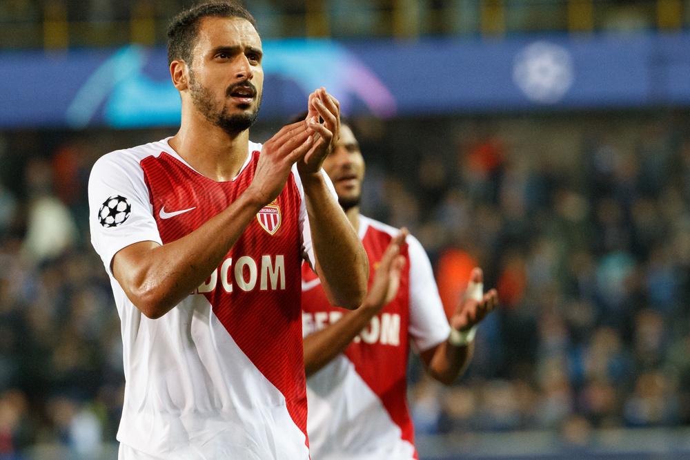 Chadli zat bij AS Monaco op een zijspoor., belgaimage