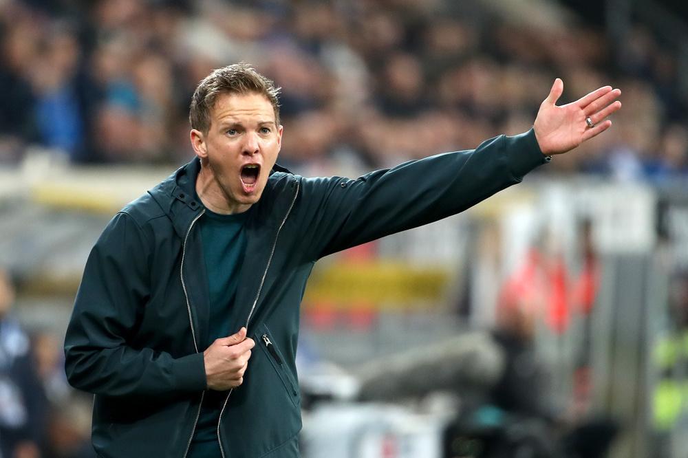 Nagelsmann (32) kwam over van Hoffenheim en moet Leipzig naar successen leiden., belgaimage