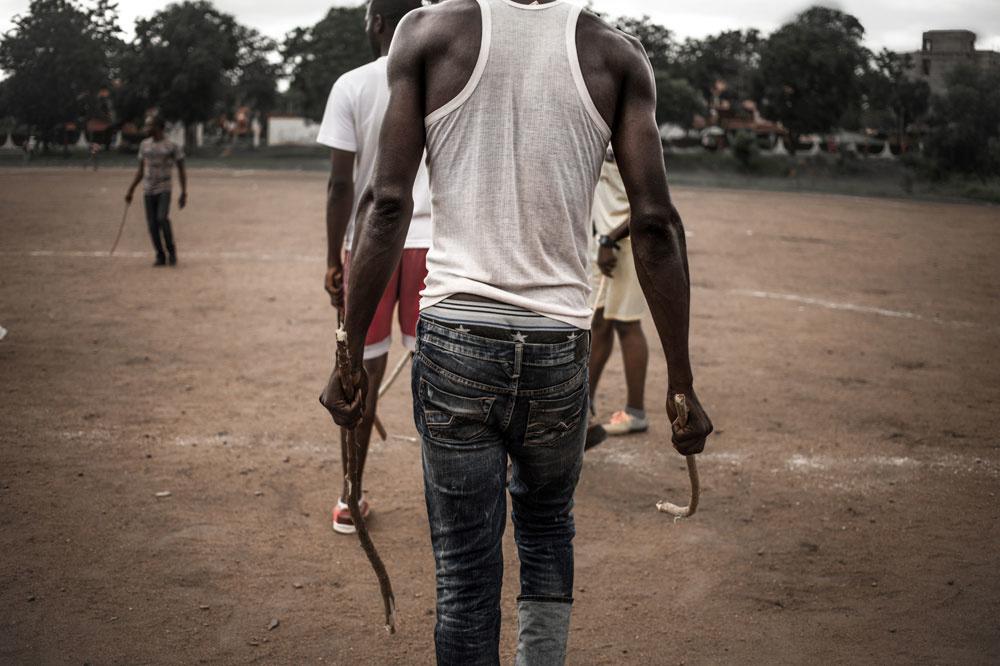 Le Ngbaba, AFP