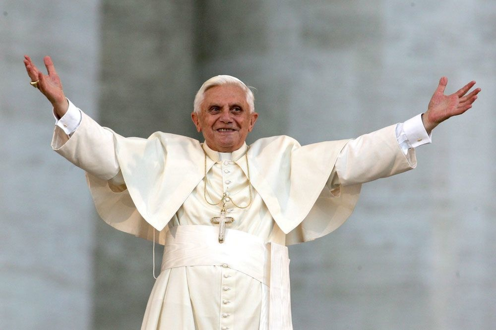 Le pape Benoît XVI, AFP