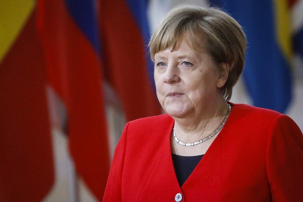 Angela Merkel., Belga