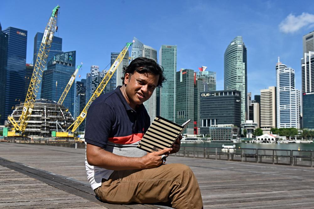 M.D. Sharif Uddin, auteur de Stranger to Myself, Getty Images