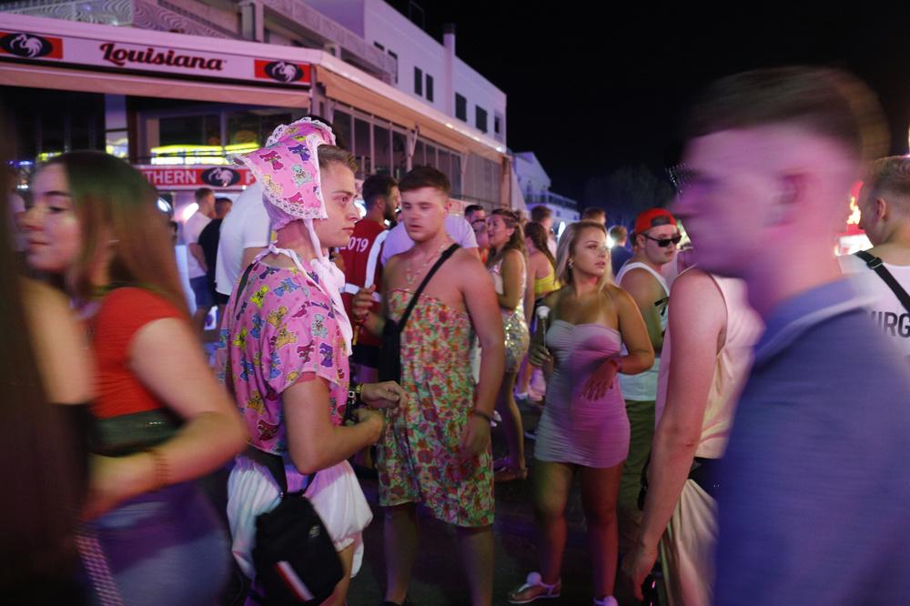 touristes nocturnes à Majorque, Getty Images