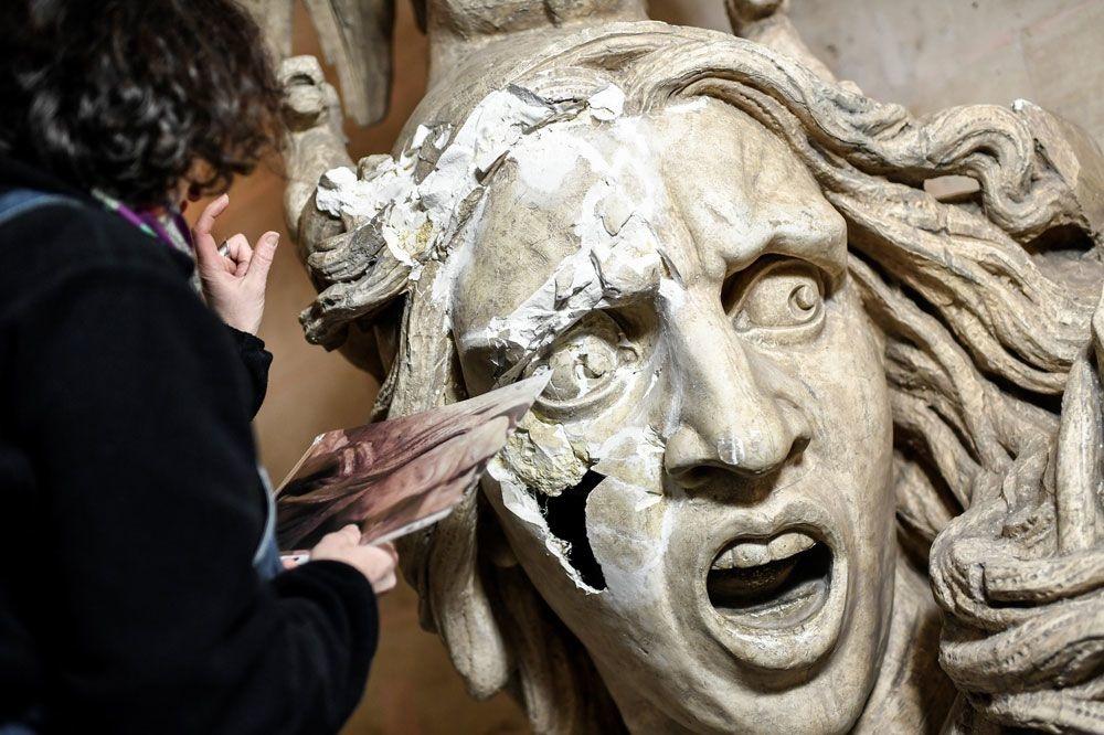 Les difficultés d'une rénovation sont nombreuses , AFP
