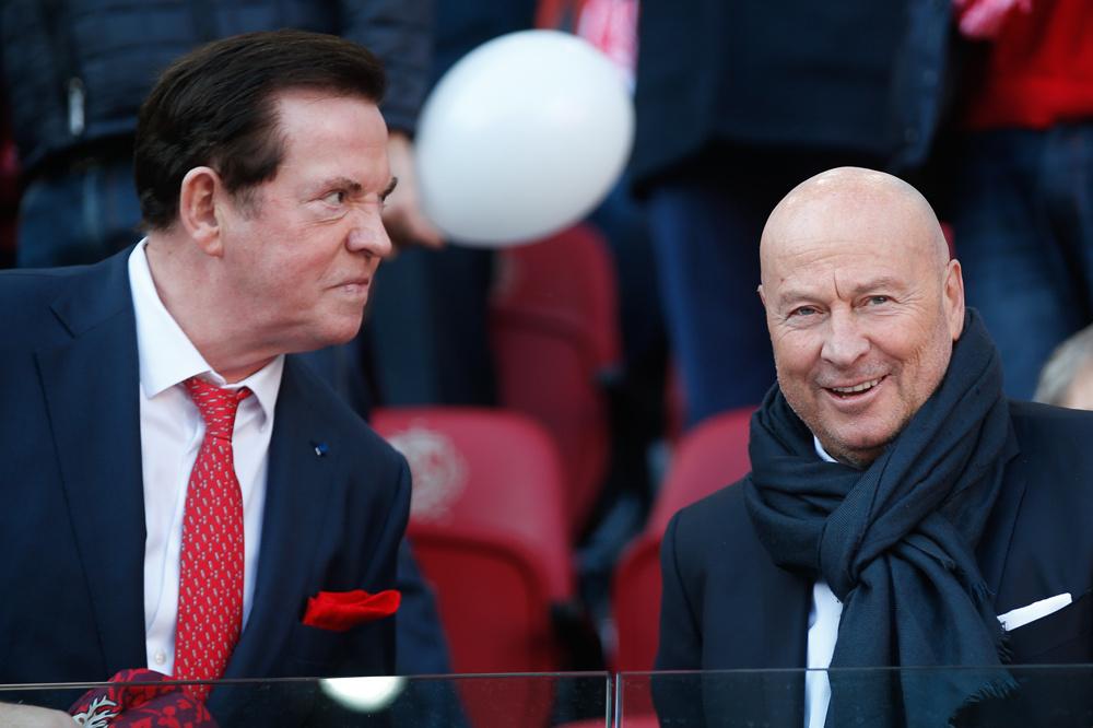Gheysens en D'Onofrio geloven in de groeimarge van R Antwerp FC., belgaimage