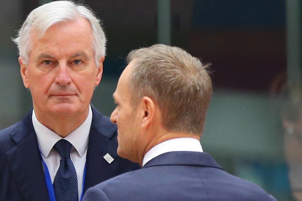 Michel Barnier & Donald Tusk, Getty Images