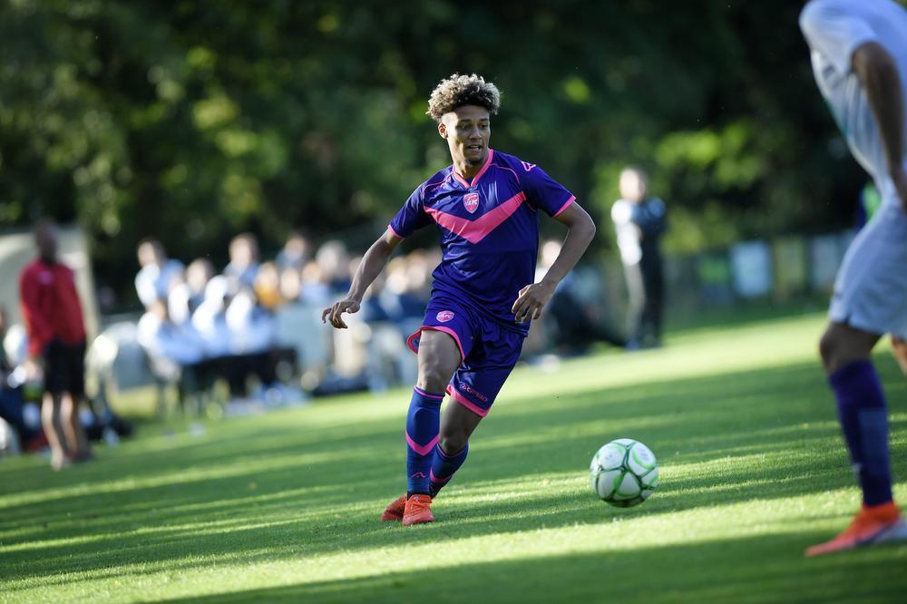 Dylan Saint-Luis kwam over van Paris FC en moet Beerschot mee naar 1A schieten., PHOTOPQR/VOIX DU NORD/MAXPPP