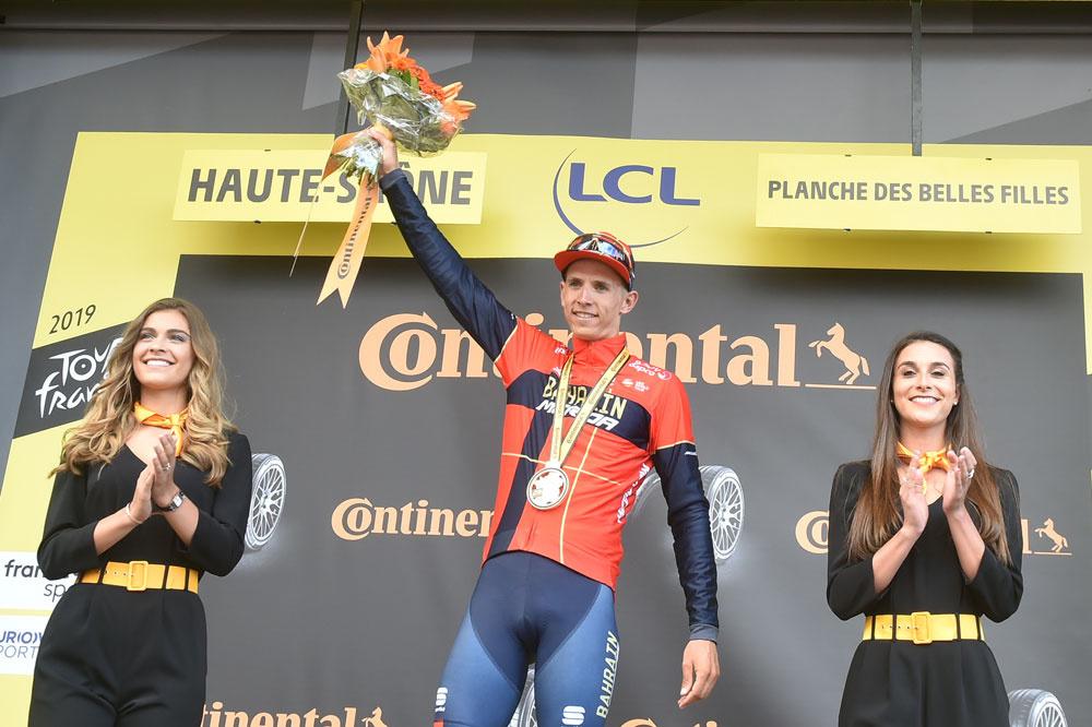 Dylan Teuns kan een ritzege pakken in twee opeenvolgende grote rondes., Belga