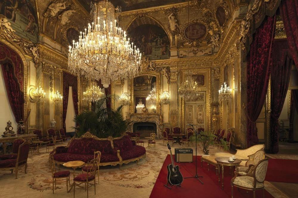 Apparement van Napoleon III, Airbnb-Louvre/Julian-Abrams
