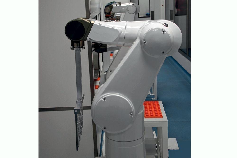 La production est assurée par six robots fonctionnant 24 heures sur 24 et sept jours sur sept, sans aucune intervention humaine., TEXERE Biotech