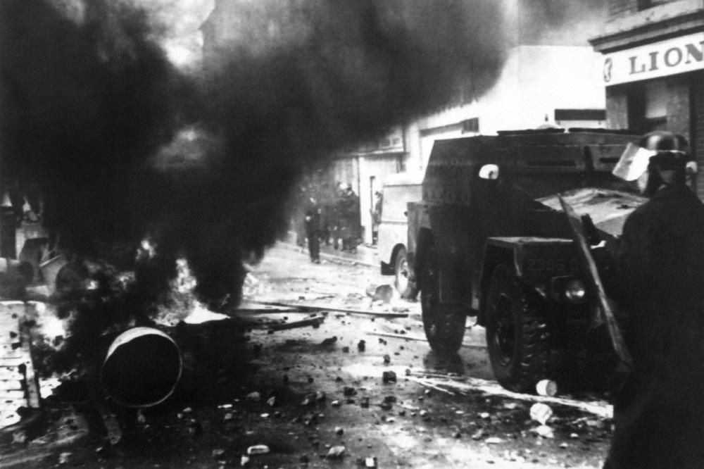 Londonderry 1969., Belga