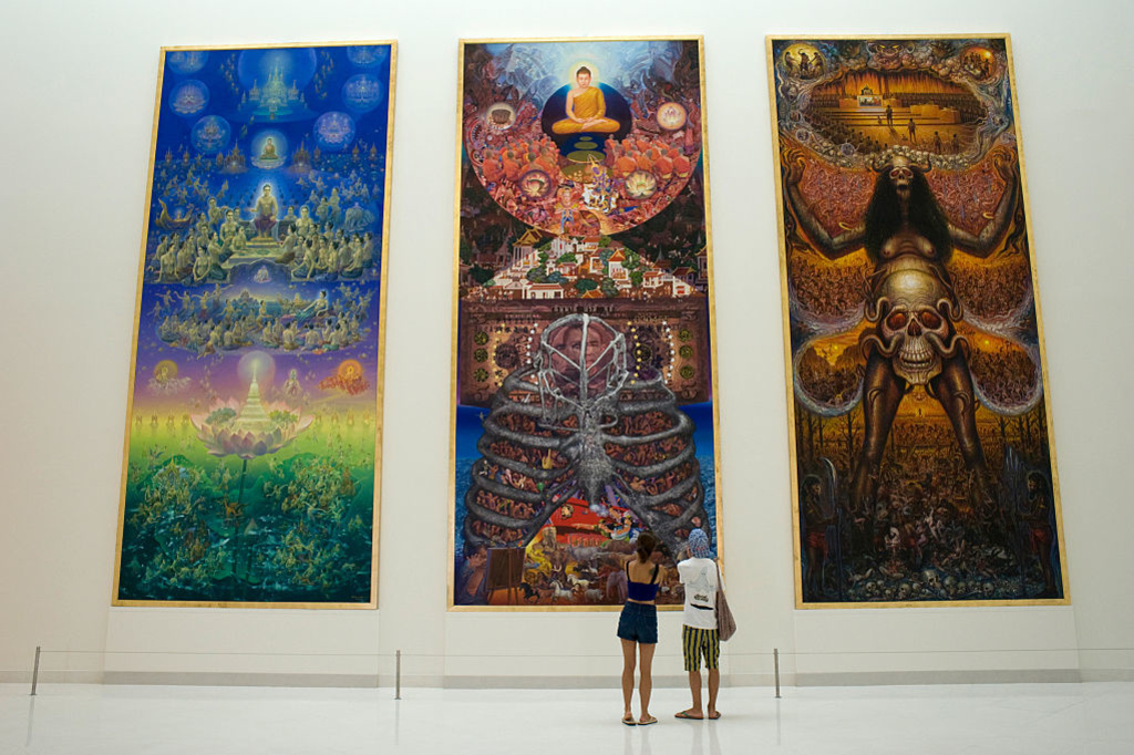 Het Museum Of Contemporary Art (MOCA)., Getty