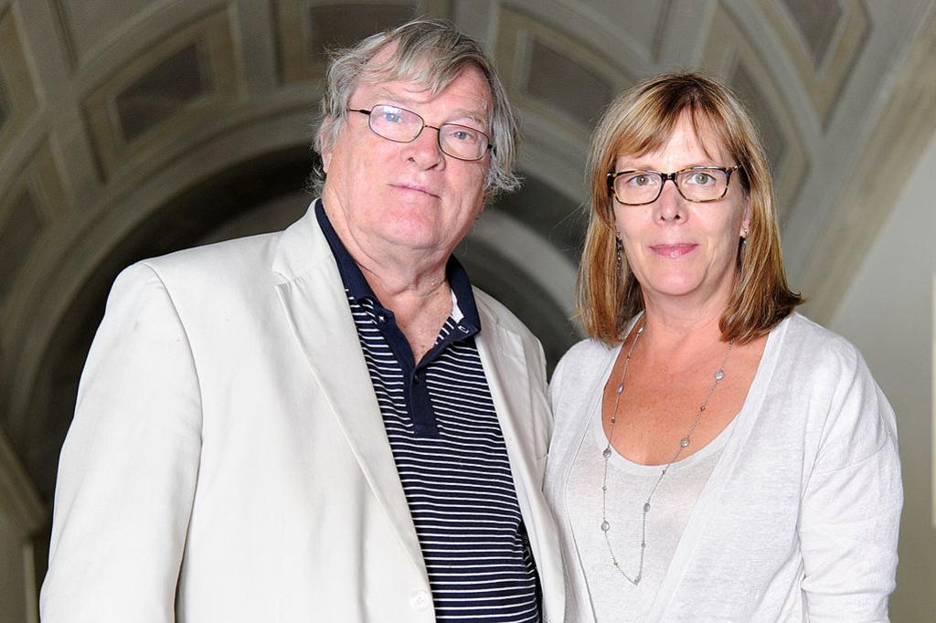 Pennebaker en zijn vrouw Chris Hegedus, ook een documentairemaker, Getty