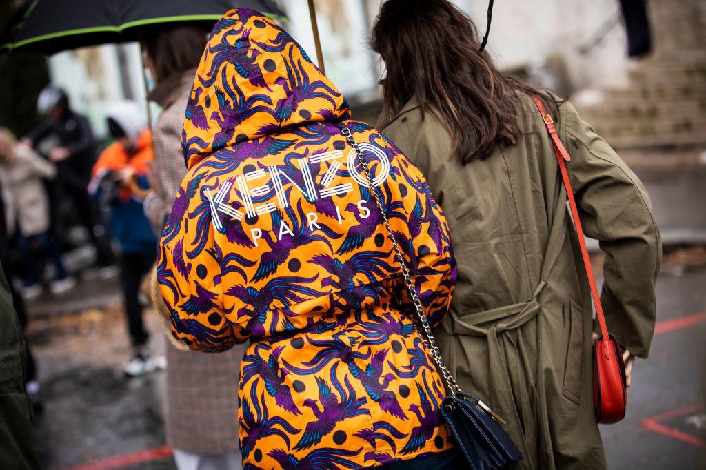 Kenzo: gedurfde prints en kleuren, eigen aan het merk, Getty